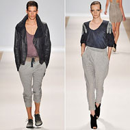 Sweatpants Have Become Some of the Most Stylish Things You Can Wear -- The Cut :  yigal azrouel band of outsiders trends y3