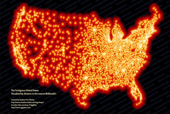 Modern Marvels: McDonald&#8217;s Map and iPhone Apps