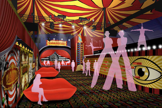 Step Right Up to Carnival's Menu! See the Incredible Rendering!