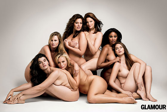 Glamour Delivers More Plus-Size Nude Models. By Amy Odell