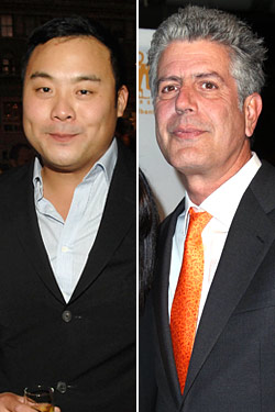 Ten Things Anthony Bourdain and David Chang Hate