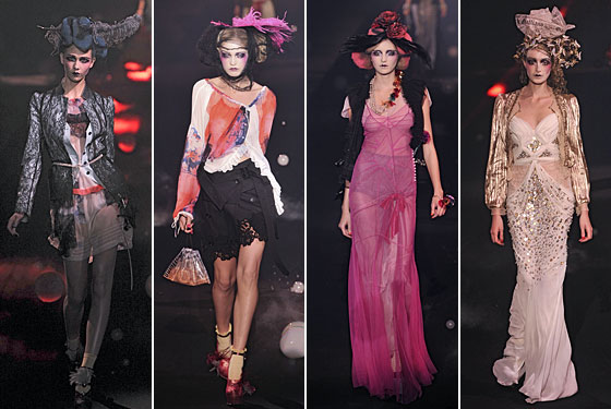 john galliano dresses 2010. Critics agreed John Galliano#39;s