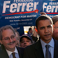Remember when Obama campaigned for Fernando Ferrer in 2005 when he was down like 40 points?