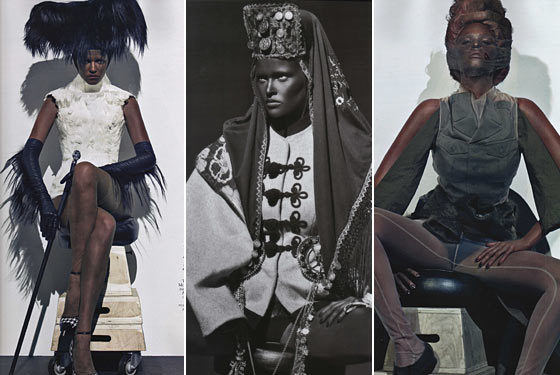 French Vogue Shoots Lara Stone in Blackface for This Month's Supermodel Issue