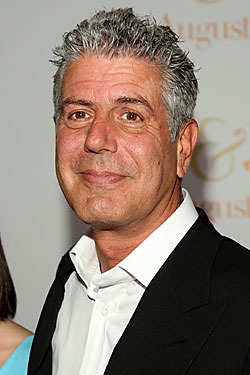Bourdain Has Reservations About New Boss