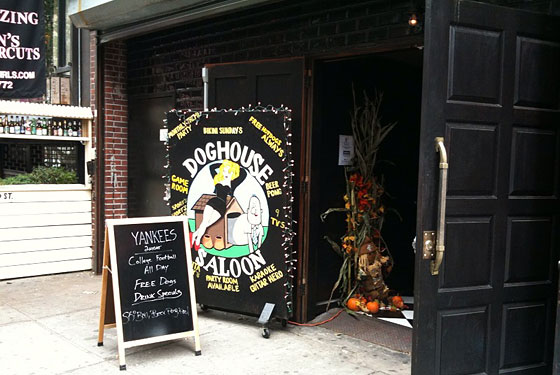 Doghouse Operator Assures Us Beer Pong on the LES Is Okay