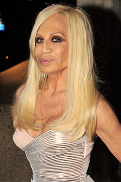 Donatella Versace Doesn't Want to Design Plus-Size Clothes