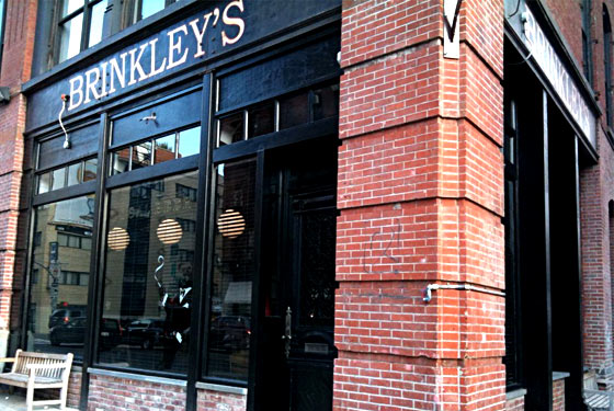 Brinkley's on the Brink: Your Very First Look at the Menu