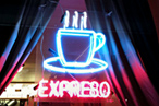 &quot;Expreso&quot; served at Castillo de Madison in New York.