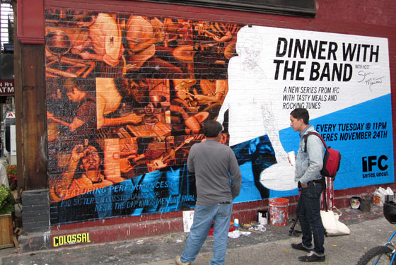 Mason Is God: Tailor Chef Immortalized on Williamsburg Wall