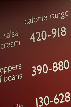 City's Study Says Calorie Postings Do Make a Difference