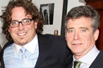 Sterling with Jay McInerney.