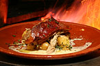 Philly Chef David Katz Is a Fan of Peasant's Spit-Roasted Pig and Creamy Potatoes