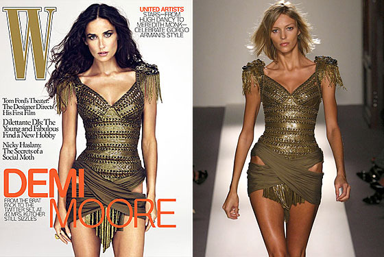 Conspiracy Theorists Suggest W Photoshopped Demi Moore's Head Onto Anja Rubik's Body for the December Cover  Read more: Conspiracy Theorists Suggest W Photoshopped Demi Moore's Head Onto Anja Rubik's Body for the December Cover -- The Cut http://nymag.com/daily/fashion/2009/11/conspiracy_theorists_suggest_w.html#ixzz0Y307SPjf