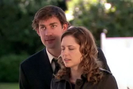 The Office: Jim and Pam Dodge a Bullet! Yes, Another One! -- Vulture