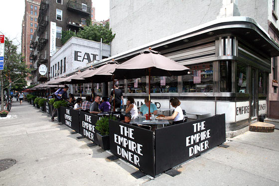 Landlord Fights for 'Empire Diner' Name