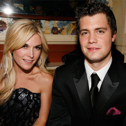 Levi Johnston with, yes, Tinsley Mortimer, last night. She was asking the same thing we were.