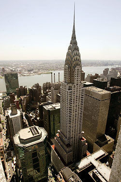 Chrysler Building. So hot right now. Chrysler Building.