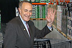 Schumer Shops at Costco; Pelosi Prefers East Village Cafés