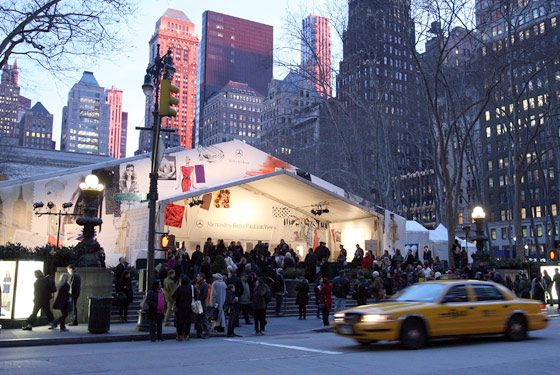 Fashion Week's Last Run in Bryant Park Will Be Huge