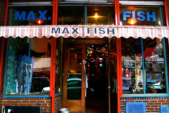 Fond Memories (and Memories of Fondling!) From the Max Fish Crowd
