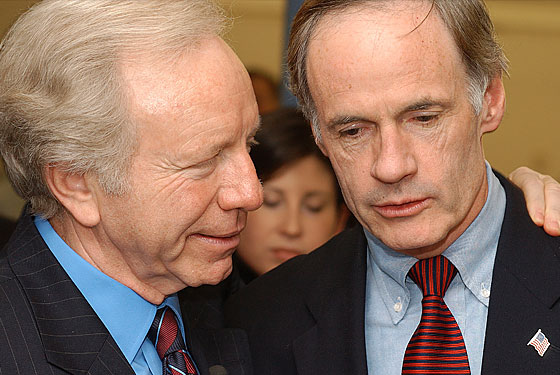 Magneto and Senator Tom Carper discuss health care.