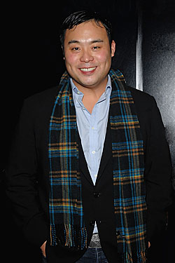 David Chang, out and about earlier this week.