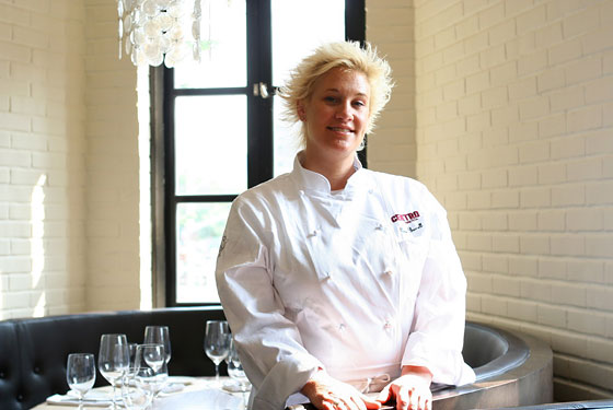 Anne Burrell Wants Back Into the Biz