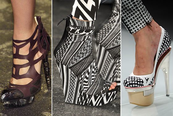 crazy shoes for women | Crazy and crazier - the women's shoe fashion / Top That