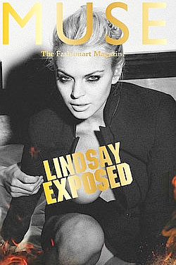 Lindsay Lohan Lands the Cover and Eighteen Pages in Muse