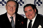 Sirio Maccioni and Emeril Lagasse at the Food Allergy Ball.