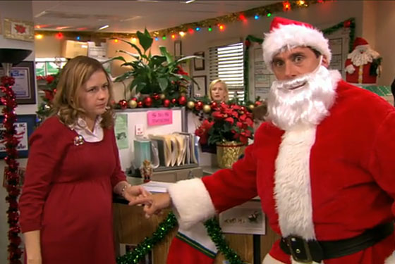 it was the regular christmas episode of the office last night with its usual karaoke machine dwight as an elf and the secret santa exchange that once led - The Office Christmas Episodes