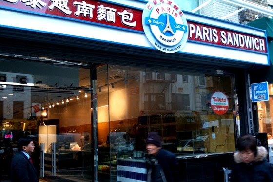 B&#225;nh M&#236; Bomb: Paris Sandwich Drops Second Location