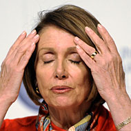 Nancy Pelosi mentally prepares herself for the headaches still to come.