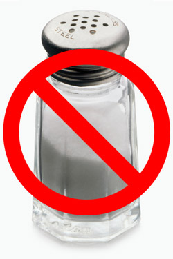 Insane Bill Would Ban Salt in Restaurants, Impose $1,000 Fines