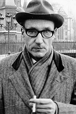 Burroughs in 1965. Or was this picture taken <i>last week?</i>