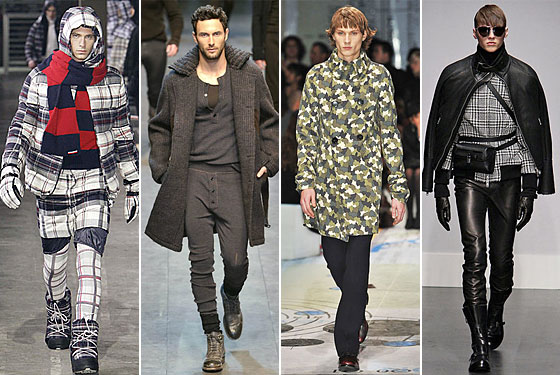 From left Gamme Bleu Dolce Gabbana Prada and Gianfranco Ferr is this