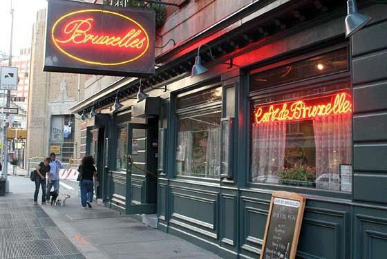 Café de Bruxelles Felled by Basement Fire