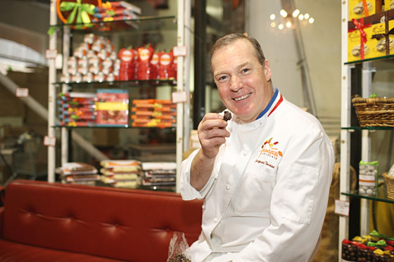 Mr. Chocolate, Jacques Torres, Stashes Cocoa Nibs in Pockets, Rides a Scooter to Sushi