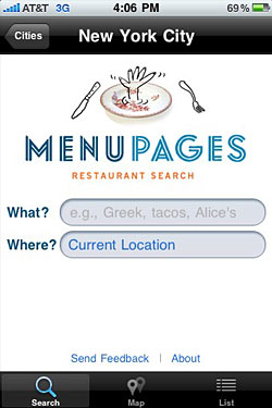 Breaking: Download the Free MenuPages iPhone App Now!