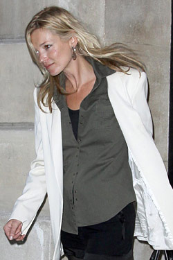 Kate Moss Was Just Kidding About Those Gray Streaks