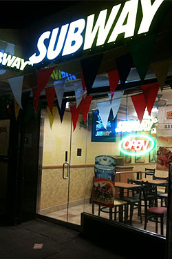 Subway Plans to Spread Its Sesame Seeds All Over Brooklyn
