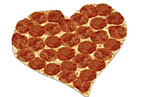 Aw or Ew? The Heart-Shaped Papa John's Pie