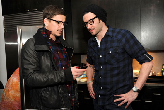 Josh Hartnett and Sam Talbot Bro Down