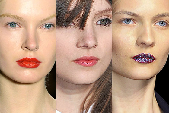 Runways Take a Trip to the Lipstick Jungle -- The Cut :  new york fashion week doori trends makeup