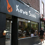 Fired Kawa Sushi Employee Picketing