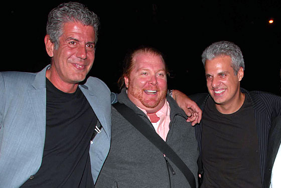 Ripert to Bourdain and Batali: 'Jersey Shore' Kid Dined at Le Bern