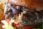 Franklin Becker&#39;s Jucy Lucy.