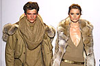 Abbey Lee and Simon Nessman Are Wednesday's Top Models