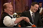Mario Batali Wins 'Most-Frequent Guest' Honors on Fallon
